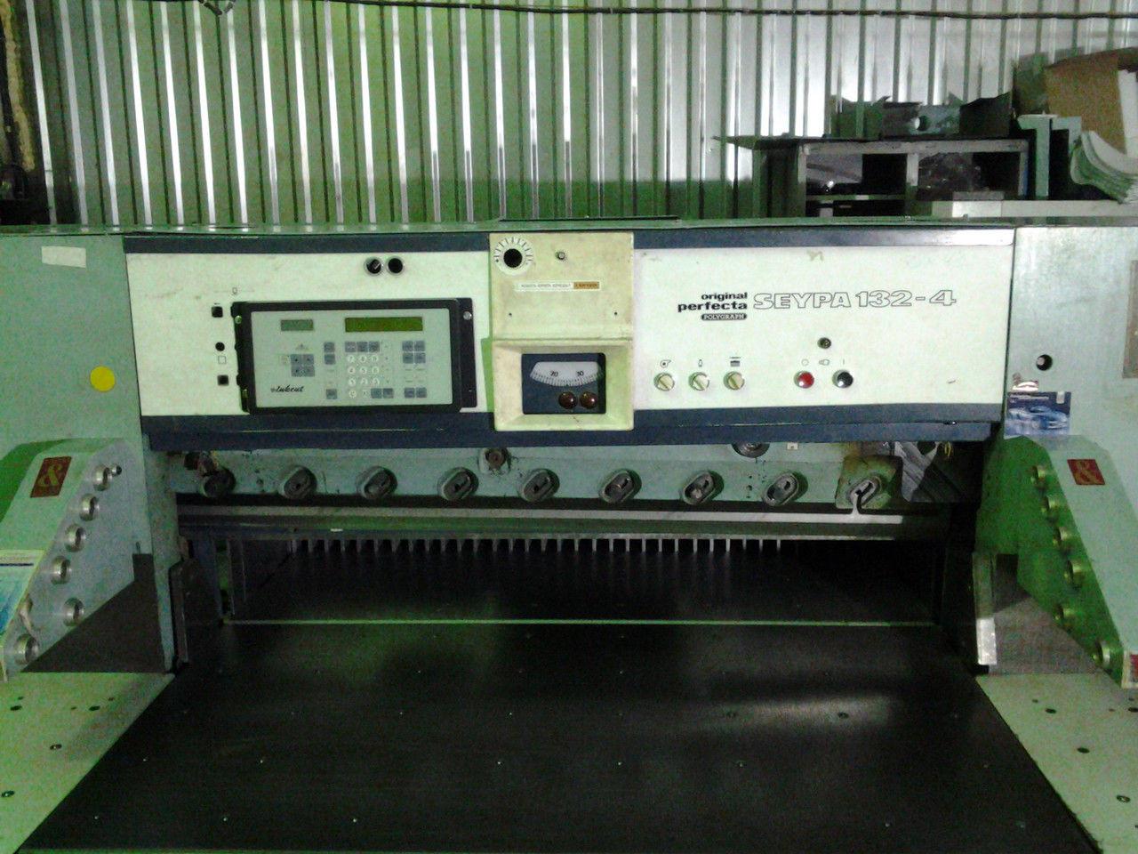 Perfecta Seypa 132-4: бу одноножевая бумагорезальная машина
