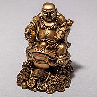 """Статуэтка """"Будда с лягушкой"""" (12 см), фото 1"""
