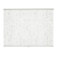 ЛИСЕЛОТТ Рулонная штора, белый, фото 1