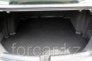 Коврик в багажник Lada Largus, от 12 г.в., универсал 7 мест (длинный)