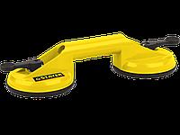 Стеклодомкрат MAXLift, пластмассовый, двойной, на присоске, 80 кг
