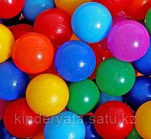 Шарики для сухого бассейна с рисунком, диаметр шара 7,5 см, набор 150 шт.