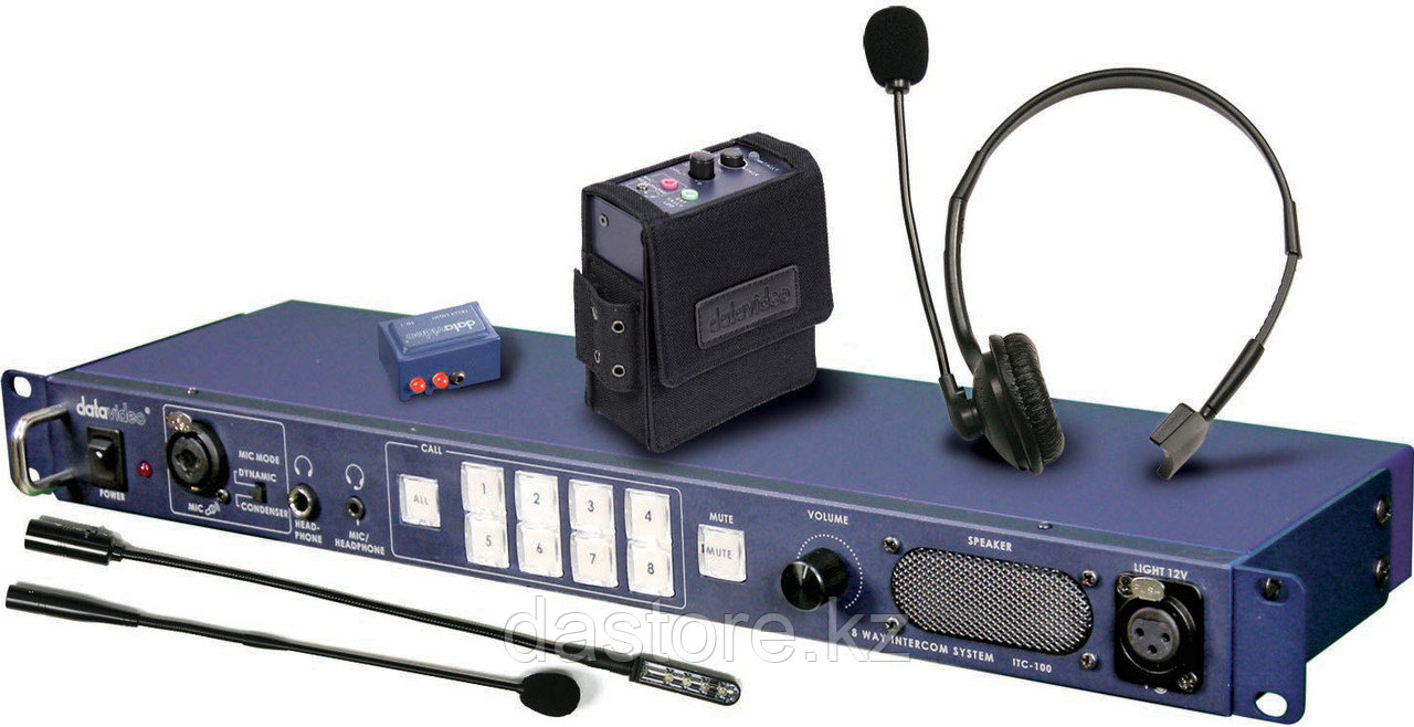 Datavideo ITC-100 служебная связь (рация)