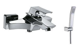 LM4502C Серия UNIT. Смеситель для ванны с коротким изливом, керамич. картридж 35 мм Sedal, с аксессуарами