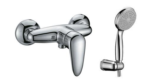 LM3303C Серия PRAMEN. Смеситель для душа, керамич. картридж 35 мм Sedal, с аксессуарами