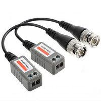 Video Balun 202L, пассивный UTP BNC видео трансивер, CCTV балун