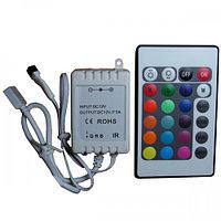Контроллер с 24 кнопочным пультом для RGB светодиодных лент CIR-24-RGB, фото 1