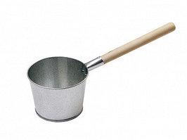Ковш оцинкованный для бани 2,5 л