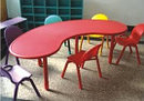 Стол детский пластиковый Палитра HD501 HUADONG, фото 2