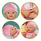 Интерактивная кукла Zapf Creation Baby born 820-414 Бэби Борн Кукла 43 см, кор., фото 3