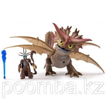 """Делюкс набор """"Как приручить дракона 2"""" - Укротитель драконов Валка и Шторморез (Valka & Cloudjumper)"""