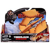 Фигурка Dragons Функциональный дракон Тимберджек