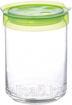STORIHG JAR банка для сыпучих 1 л с зеленой крышкой