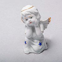 """Фарфоровая статуэтка """"Ангел"""" (9см), фото 1"""