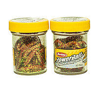 """Приманка """"Berkley PowerBait Sparkle Honey Worm, Red Scales"""""""