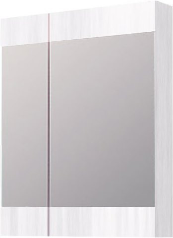 """Бриг""шкаф-зеркало, цвет сосна магия, Br.04.06/SM, ТМ «AQWELLA»"