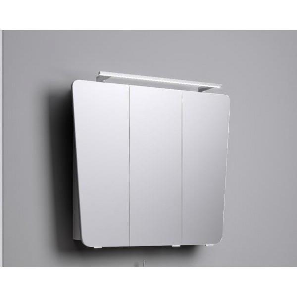 """Simphony"" шкаф-зеркало со светильником, Sim.04.08/W, ТМ «AQWELLA»"