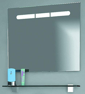 """Европа""Панель с зеркалом и подсветкой  Eu.02.07 , ТМ «AQWELLA»"