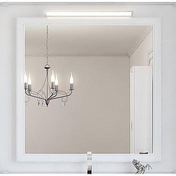 """""""Империя"""" Зеркало в раме, цвет белый Emp.02.10/W, ТМ «AQWELLA»"""