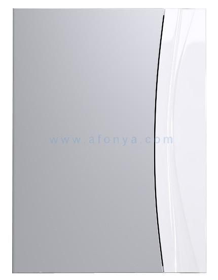 """Самба"" Шкаф-зеркало, цвет белый Sam.04.05, ТМ «AQWELLA»"
