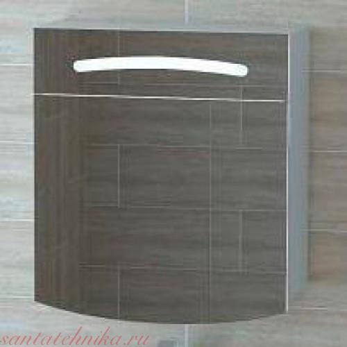 """Темпо"" Шкаф-зеркало с подсветкой Tmp.04.06/FLOR, ТМ «AQWELLA»"