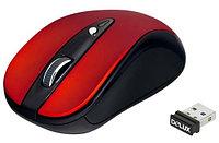 Мышь Delux DLM-483LGR, 3D, Лазерная, 800-1200dpi, Беcпроводная 2.4ГГц, Нано-ресивер, Эффективная дистанция 10, фото 1