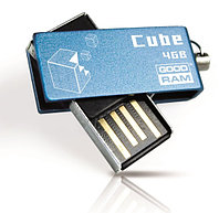 Флеш-память 4GB USB GOODRAM Cube Blue RETAIL, фото 1