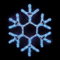 Снежинка светодиодная d40