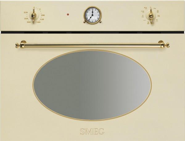 Встраиваемая духовка с функцией микроволновки Smeg SF4800MCP