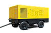 Передвижные дизельные  винтовые компрессоры DLCY-32/10