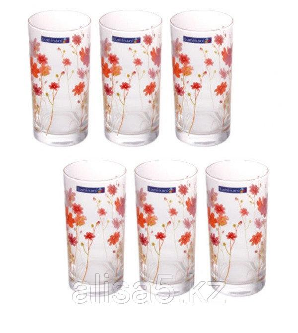 COUNTRY FLOWER стаканы высокие 270 мл (6шт.)