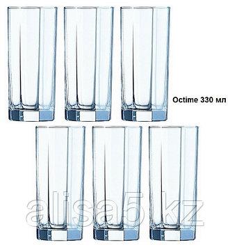 Octime стаканы высокие 330 мл 6 шт, уп.