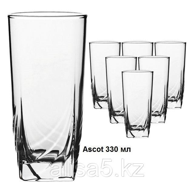 ASCOT стаканы для напитков 330 мл 6 шт, уп.