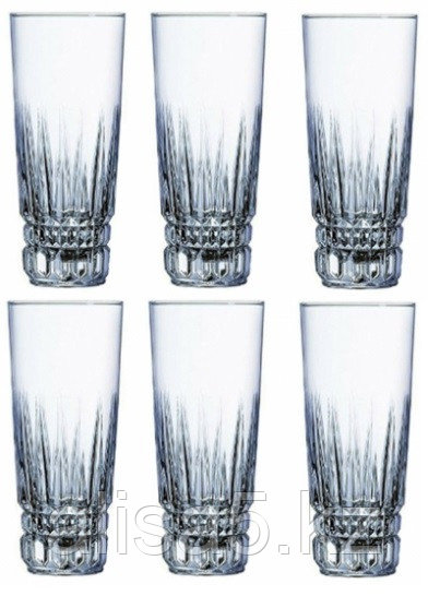 IMPERATOR стаканы высокие 310 мл, 6 шт, Luminarc