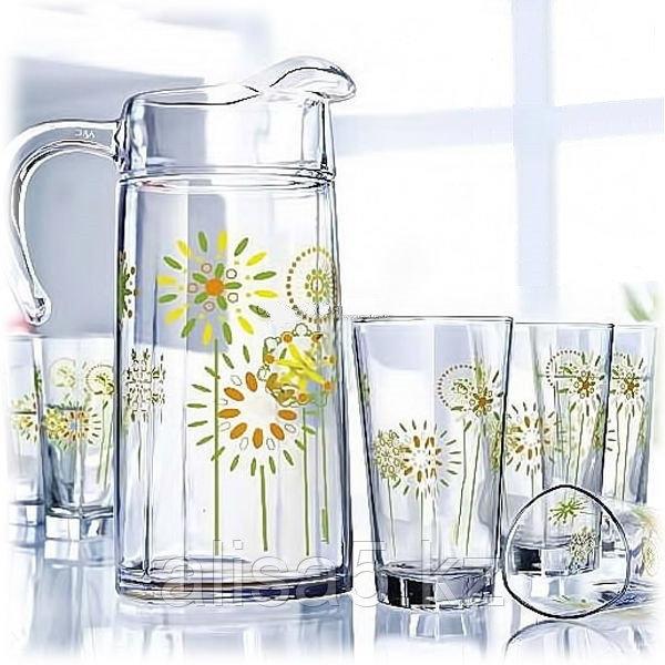 Графин+стаканы DELTA COTTON FLOWER 7 предметов