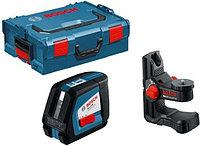 Линейный лазерный нивелир BOSCH GLL 2-50 Professional + BM1 (новый) + L-Boxx построитель плоскостей