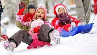 Зимний развлечения