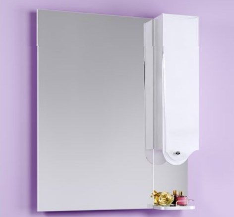 """Таврус"" панель с зеркалом и шкафчиком Tav.02.06, ТМ «AQWELLA»"