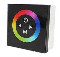 LED RGB контроллер с сенсорной панелью (черный), фото 1