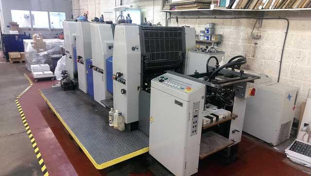 524HX б/у 1999г - 4-красочная печатная машина Ryobi