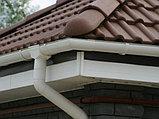 Угол наружный (внутренний) 90 град. для желоба d=125 мм, RUPLAST (коричневый), фото 4