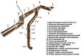 Хомут металлический. d=90 мм, RUPLAST (коричневый), фото 3