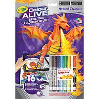 Crayola Интерактивная раскраска Драконы
