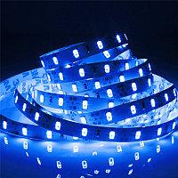 Синяя яркая светодиодная лента 5630, фото 1