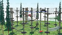 Веревочный парк для детей спортивно-игровой, фото 1