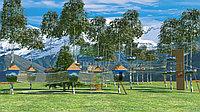 Канатные мосты для детского  веревочного парка, фото 1