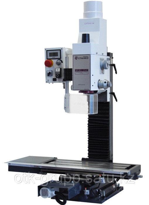 Настольный фрезерный станок с ЧПУ BF 20 CNC , Optimum