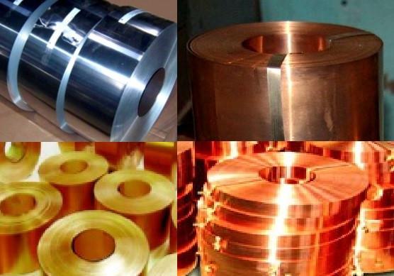 Ленты из цветных металлов (алюминиевая, бронзовая, латунная, медная, нихромовая, нержавеющая)