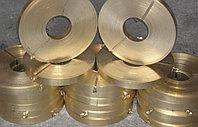 Лента латунная 200х0.2, 300х0.4, 300х0.5 Л63 марка сплав твердая мягкая 0.2х200, 0.4х300, 0.5х300 мм