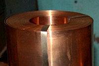 Лента бронзовая 250х0.1, 250х0.3 БРОФ6,5-0,15 БрКМц 3-1 марка сплав полутвердая 250х0.1, 0.3х250 мм